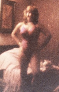Ocean City after a year at the gym. It's blurry - but I think I was wearing someone's cowboy boots here, although I have no idea why.